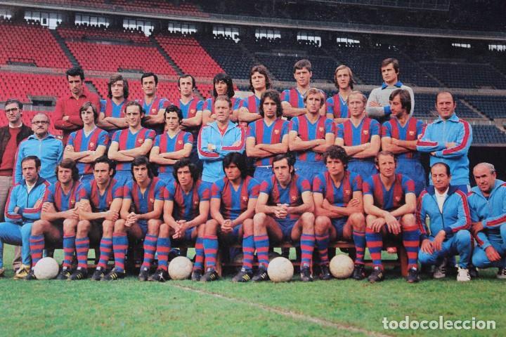 Coleccionismo deportivo: Postal C.F Barcelona - Foto 2 - 158990942