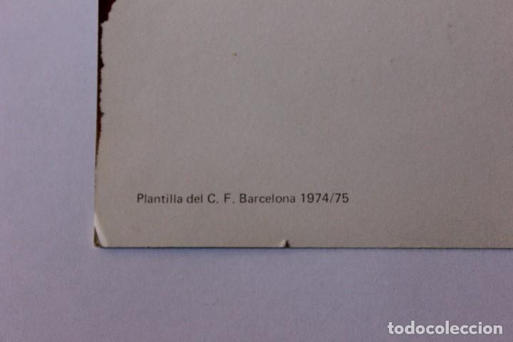 Coleccionismo deportivo: Postal C.F Barcelona - Foto 3 - 158990942