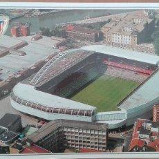 Coleccionismo deportivo: POSTAL BILBAO CAMPO FUTBOL FOOTBALL SAN MAMES STADIUM ATHLETIC 1982 VIZCAYA PERFECTA CONSERVACION. Lote 159197778