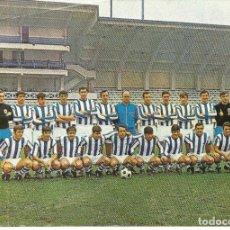 Coleccionismo deportivo: POSTAL, REAL SOCIEDAD DE SAN SEBASTIÁN, PLANTILLA TEMPORADA 1969/70, GRAN FORMATO, 15X21. Lote 159278938