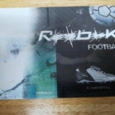 Coleccionismo deportivo: POSTAL REEBOK FOOTBALL. Lote 160191317