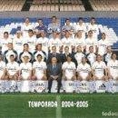 Coleccionismo deportivo: POSTAL REAL MADRID 2004/05 04/05 (21 CM X 15 CM). Lote 161289006
