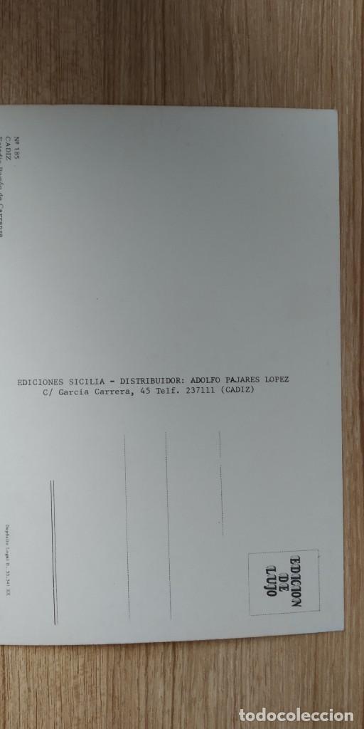 Coleccionismo deportivo: CADIZ Nº 185 ESTADIO RAMON DE CARRANZA ED SICILIA SIN CIRCULAR - Foto 2 - 161552734