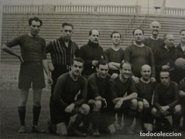 Coleccionismo deportivo: FC BARCELONA-PLANTILLA 1939-PAULINO ALCANTARA-POSTAL FOTOGRAFICA R.CLARET-VER FOTOS-(V-16.677) - Foto 2 - 161690854