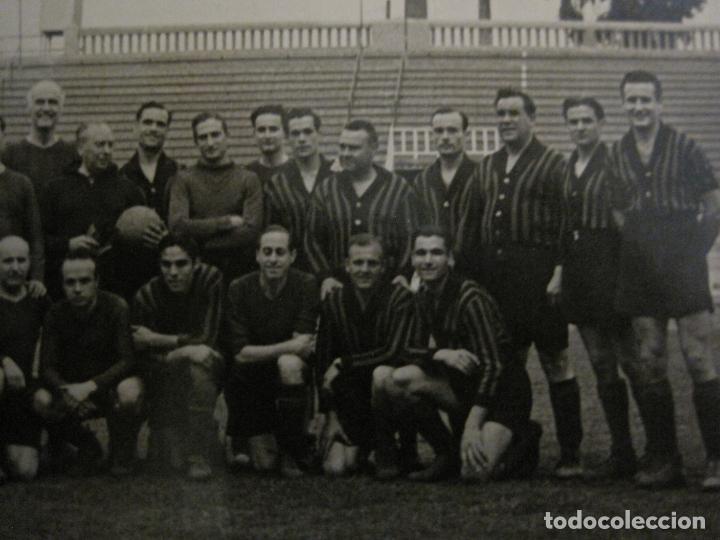 Coleccionismo deportivo: FC BARCELONA-PLANTILLA 1939-PAULINO ALCANTARA-POSTAL FOTOGRAFICA R.CLARET-VER FOTOS-(V-16.677) - Foto 3 - 161690854