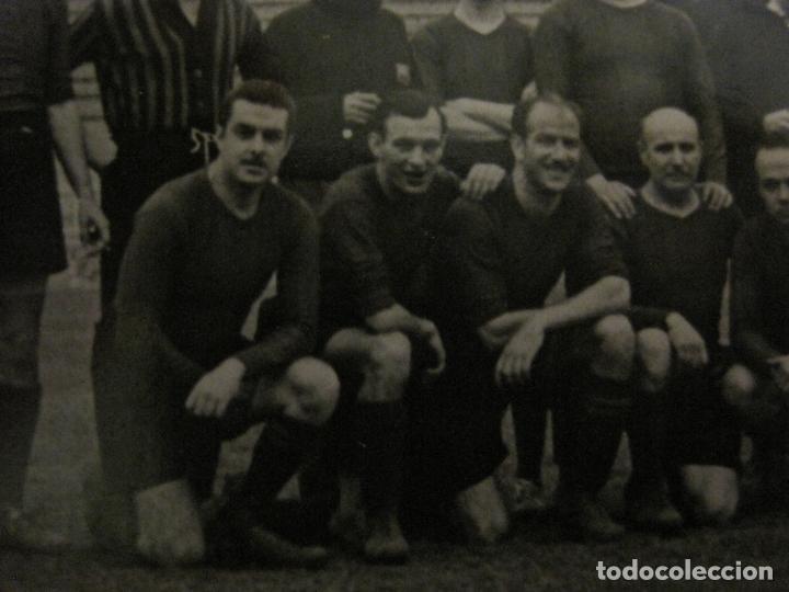 Coleccionismo deportivo: FC BARCELONA-PLANTILLA 1939-PAULINO ALCANTARA-POSTAL FOTOGRAFICA R.CLARET-VER FOTOS-(V-16.677) - Foto 5 - 161690854
