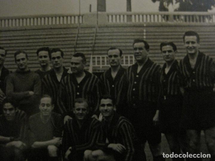 Coleccionismo deportivo: FC BARCELONA-PLANTILLA 1939-PAULINO ALCANTARA-POSTAL FOTOGRAFICA R.CLARET-VER FOTOS-(V-16.677) - Foto 6 - 161690854