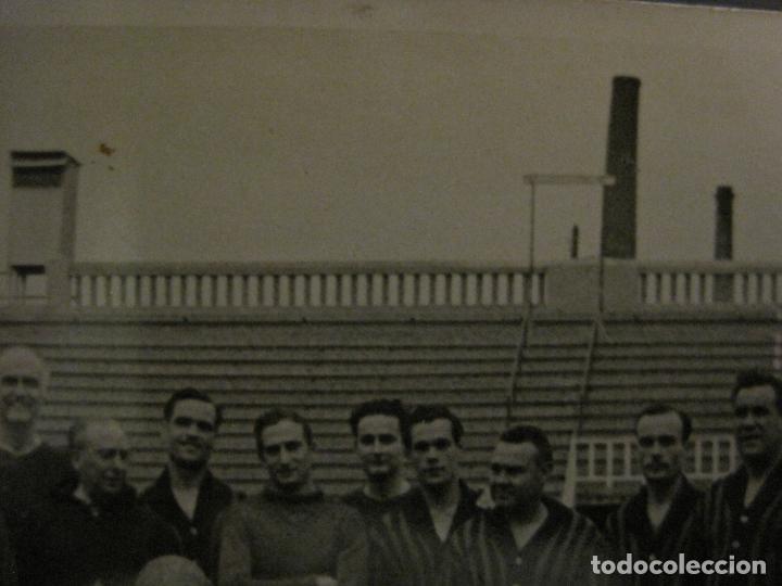 Coleccionismo deportivo: FC BARCELONA-PLANTILLA 1939-PAULINO ALCANTARA-POSTAL FOTOGRAFICA R.CLARET-VER FOTOS-(V-16.677) - Foto 9 - 161690854