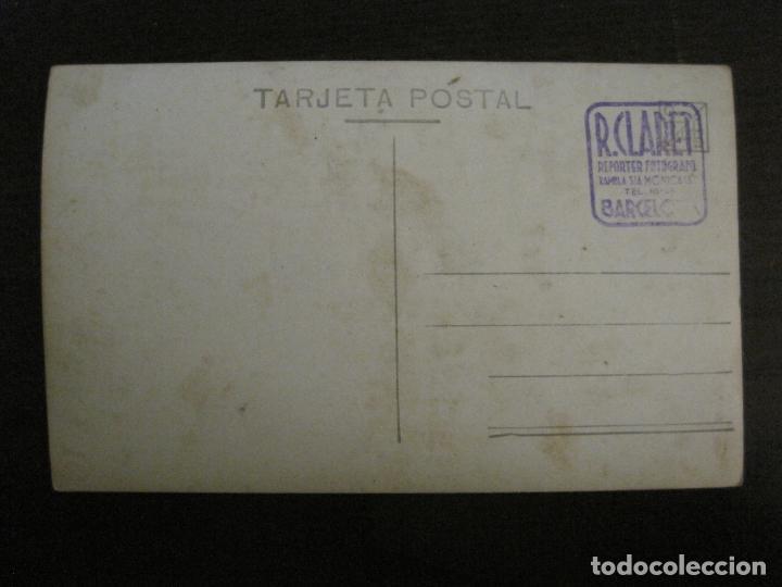 Coleccionismo deportivo: FC BARCELONA-PLANTILLA 1939-PAULINO ALCANTARA-POSTAL FOTOGRAFICA R.CLARET-VER FOTOS-(V-16.677) - Foto 10 - 161690854
