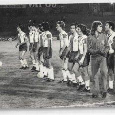 Coleccionismo deportivo: REAL CLUB DEPORTIVO ESPAÑOL / ESPANYOL - FOTO J. GUERRERO - 9 X 14 CM. Lote 162740878
