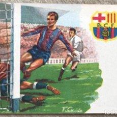 Collectionnisme sportif: ANTIGUA POSTAL DE KUBALA - FÚTBOL CLUB BARCELONA. Lote 167149288