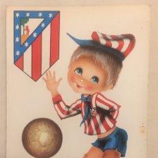 Coleccionismo deportivo: POSTAL AÑOS 70 ATLETICO MADRID. Lote 167669424