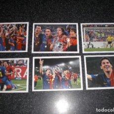Coleccionismo deportivo: COLECCION 6 POSTALES FC BARCELONA CAMPEÓN CHAMPIONS 2009 MESSI. Lote 168856664