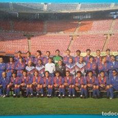 Coleccionismo deportivo: BARÇA F.C. BARCELONA FÚTBOL POSTAL EQUIPO PLANTILLA TEMP. 1989. Lote 169047444