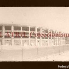 Coleccionismo deportivo: MADRID - ESTADIO FUTBOL CHAMARTIN - CLICHE EN CRISTAL - EDICIONES ARRIBAS - AÑOS 1950. Lote 169553240