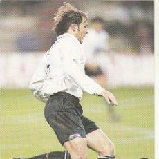 Coleccionismo deportivo: POSTAL KELME.MENDIETA VALENCIA CF. Lote 169872332