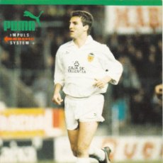 Coleccionismo deportivo: POSTAL PUMA.ROBERTO. VALENCIA CF. Lote 169872500