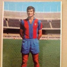 Coleccionismo deportivo: POSTAL - JUGADOR C.F. BARCELONA - ELADIO - BARÇA - FOTOGRAFIA: SEGUÍ. Lote 170419868