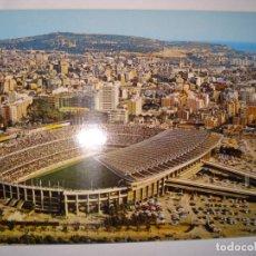 Coleccionismo deportivo: POSTAL DEL CAMPO DE FUTBOL CLUB DE BARCELONA , AÑO 1970. Lote 170554916
