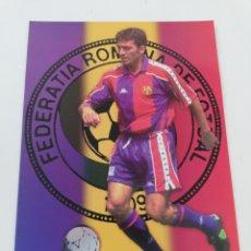Coleccionismo deportivo: POSTAL GICA GEORGHE HAGI JUGADOR FC BARCELONA BARÇA TEMPORADA 1994-1995 94-95 FUTBOL RUMANÍA 17X12. Lote 170941220