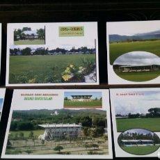 Coleccionismo deportivo: 15 POSTALES CAMPOS DE FUTBOL ASIA Y OCEANIA. Lote 170955828