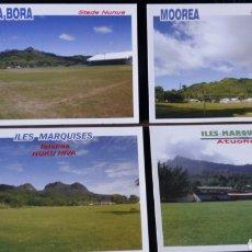 Coleccionismo deportivo: 15 POSTALES CAMPOS DE FUTBOL ASIA Y OCEANIA. Lote 170956187
