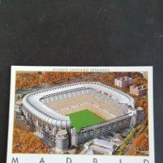 Coleccionismo deportivo: POSTAL ESTADIO SANTIAGO BERNABEU. MADRID. Lote 171037607