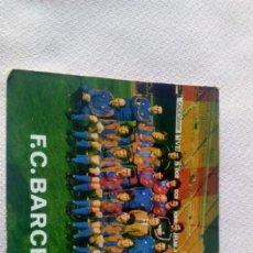 Coleccionismo deportivo: FCBARCELONA /MIGUELI,CARRASCO QUINI ,SIMONSEN . Lote 171692009