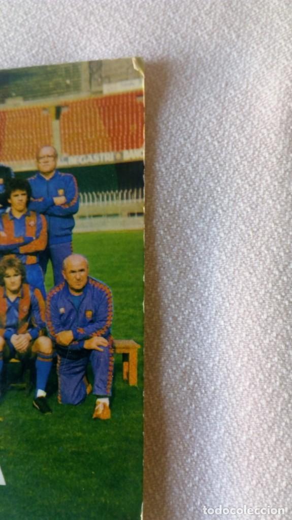 Coleccionismo deportivo: FcBarcelona /Migueli,Carrasco Quini ,Simonsen - Foto 2 - 171692009