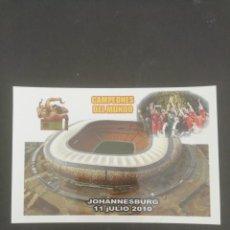 Coleccionismo deportivo: COPA DEL MUNDO SUDÁFRICA 2010. CAMPEONES DEL MUNDO. COLECCIÓN CAMPEONES 1/4. Lote 171734900
