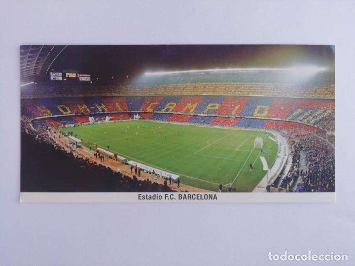 POSTAL ESTADIO F. C. BARCELONA (Coleccionismo Deportivo - Postales de Deportes - Fútbol)