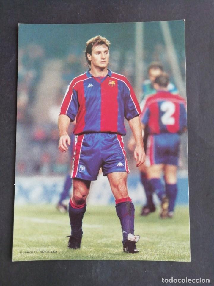 JUAN CARLOS. F. C. BARCELONA (Coleccionismo Deportivo - Postales de Deportes - Fútbol)