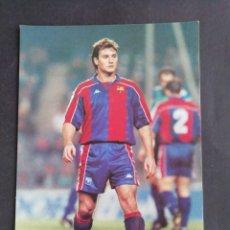 Coleccionismo deportivo: JUAN CARLOS. F. C. BARCELONA. Lote 172294289