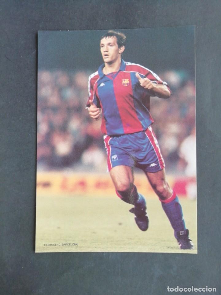 ANDONI GOICOETXEA. F. C. BARCELONA (Coleccionismo Deportivo - Postales de Deportes - Fútbol)