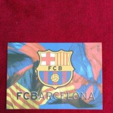 Coleccionismo deportivo: POSTAL ESCUDO F. C. BARCELONA.. Lote 172354885