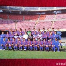 Coleccionismo deportivo: POSTAL F. C. BARCELONA PLANTILLA AÑO 1989. Lote 172356489