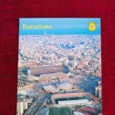 Coleccionismo deportivo: POSTAL PANORÁMICA DE LAS INSTALACIONES DEL F. C. BARCELONA .. Lote 172357380
