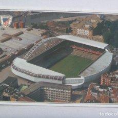 Coleccionismo deportivo: POSTAL DE BILBAO : ESTADIO SAN MAMES , DEL ATHLETIC DE BILBAO. Lote 172413227
