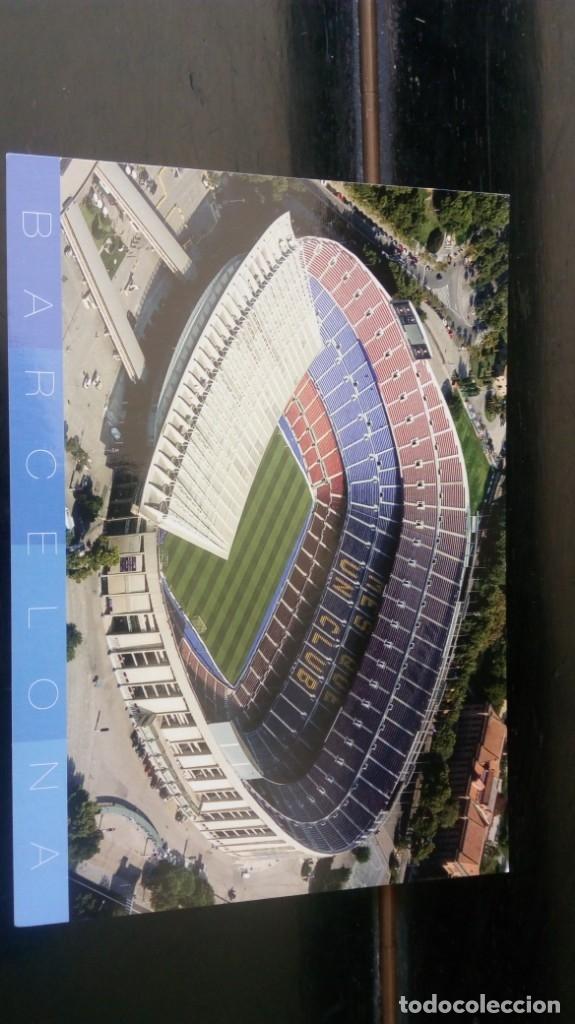 CAMP NOU FCB (Coleccionismo Deportivo - Postales de Deportes - Fútbol)