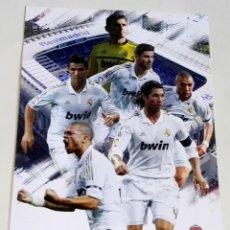 Coleccionismo deportivo: POSTAL - JUGADORES DEL REAL MADRID. Lote 174412609