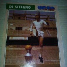 Coleccionismo deportivo: FICHA DE LA REVISTA ONZE DE DI STEFANO CON REAL MADRID - GOLY. Lote 174589224