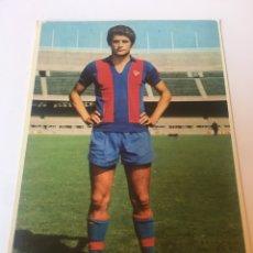Coleccionismo deportivo: POSTAL MARTÍ FILOSIA AÑOS 70 FC BARCELONA FOTO SEGUÍ. Lote 175249298