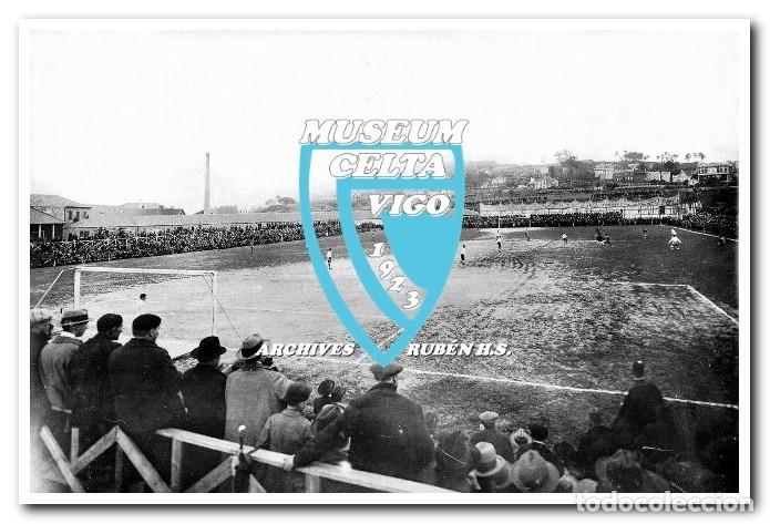 FOTOS DEL CAMPO DE COYA (COIA) AÑOS 20 EN VIGO - VIGO SPORTING, FORTUNA, CELTA (Coleccionismo Deportivo - Postales de Deportes - Fútbol)