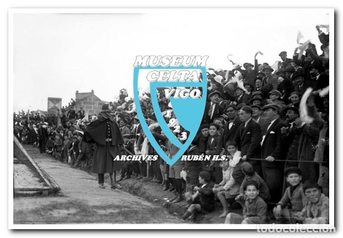 Coleccionismo deportivo: FOTOS DEL CAMPO DE COYA (COIA) AÑOS 20 EN VIGO - VIGO SPORTING, FORTUNA, CELTA - Foto 7 - 246750205