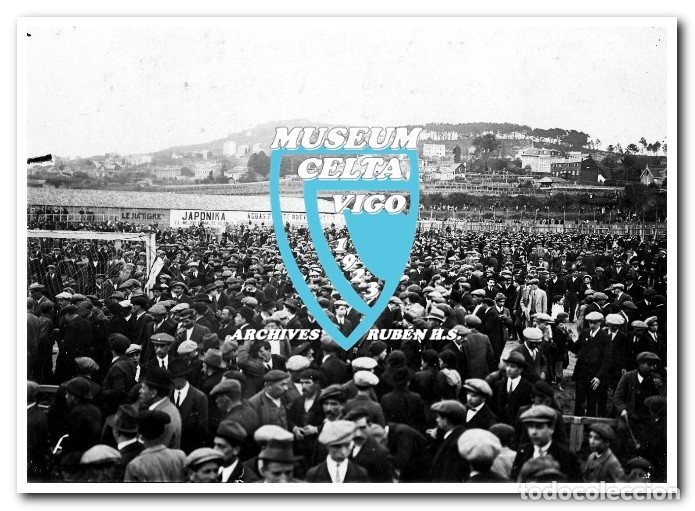 Coleccionismo deportivo: FOTOS DEL CAMPO DE COYA (COIA) AÑOS 20 EN VIGO - VIGO SPORTING, FORTUNA, CELTA - Foto 9 - 246750205