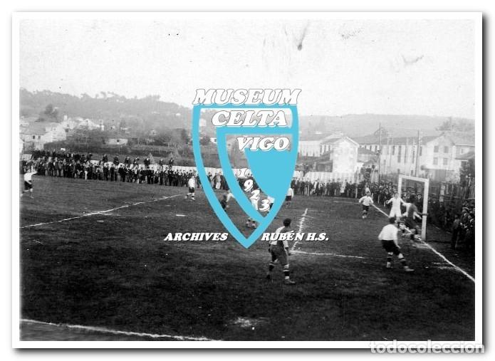 Coleccionismo deportivo: FOTOS DEL CAMPO DE COYA (COIA) AÑOS 20 EN VIGO - VIGO SPORTING, FORTUNA, CELTA - Foto 10 - 246750205