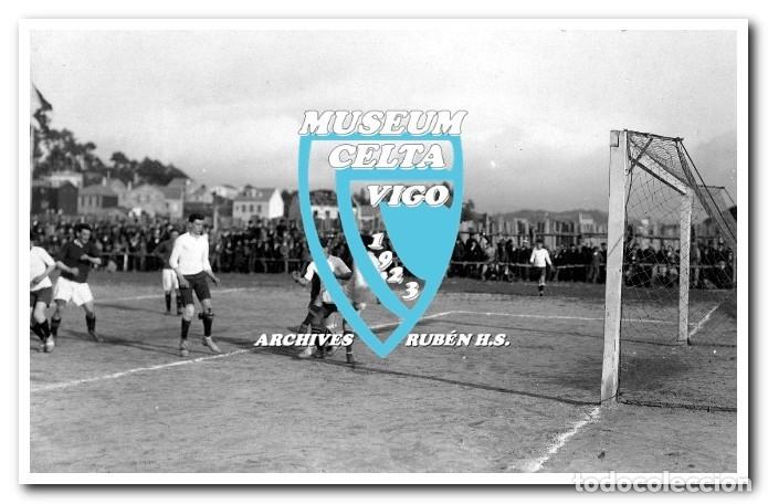 Coleccionismo deportivo: FOTOS DEL CAMPO DE COYA (COIA) AÑOS 20 EN VIGO - VIGO SPORTING, FORTUNA, CELTA - Foto 11 - 246750205