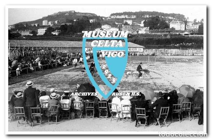 Coleccionismo deportivo: FOTOS DEL CAMPO DE COYA (COIA) AÑOS 20 EN VIGO - VIGO SPORTING, FORTUNA, CELTA - Foto 14 - 246750205
