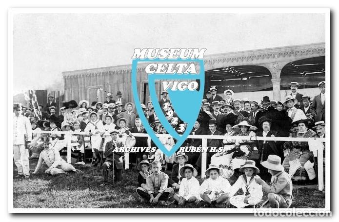 Coleccionismo deportivo: FOTOS DEL CAMPO DE COYA (COIA) AÑOS 20 EN VIGO - VIGO SPORTING, FORTUNA, CELTA - Foto 18 - 246750205