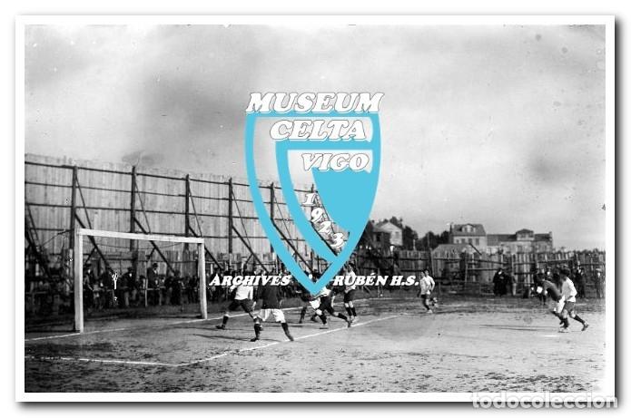 Coleccionismo deportivo: FOTOS DEL CAMPO DE COYA (COIA) AÑOS 20 EN VIGO - VIGO SPORTING, FORTUNA, CELTA - Foto 26 - 246750205